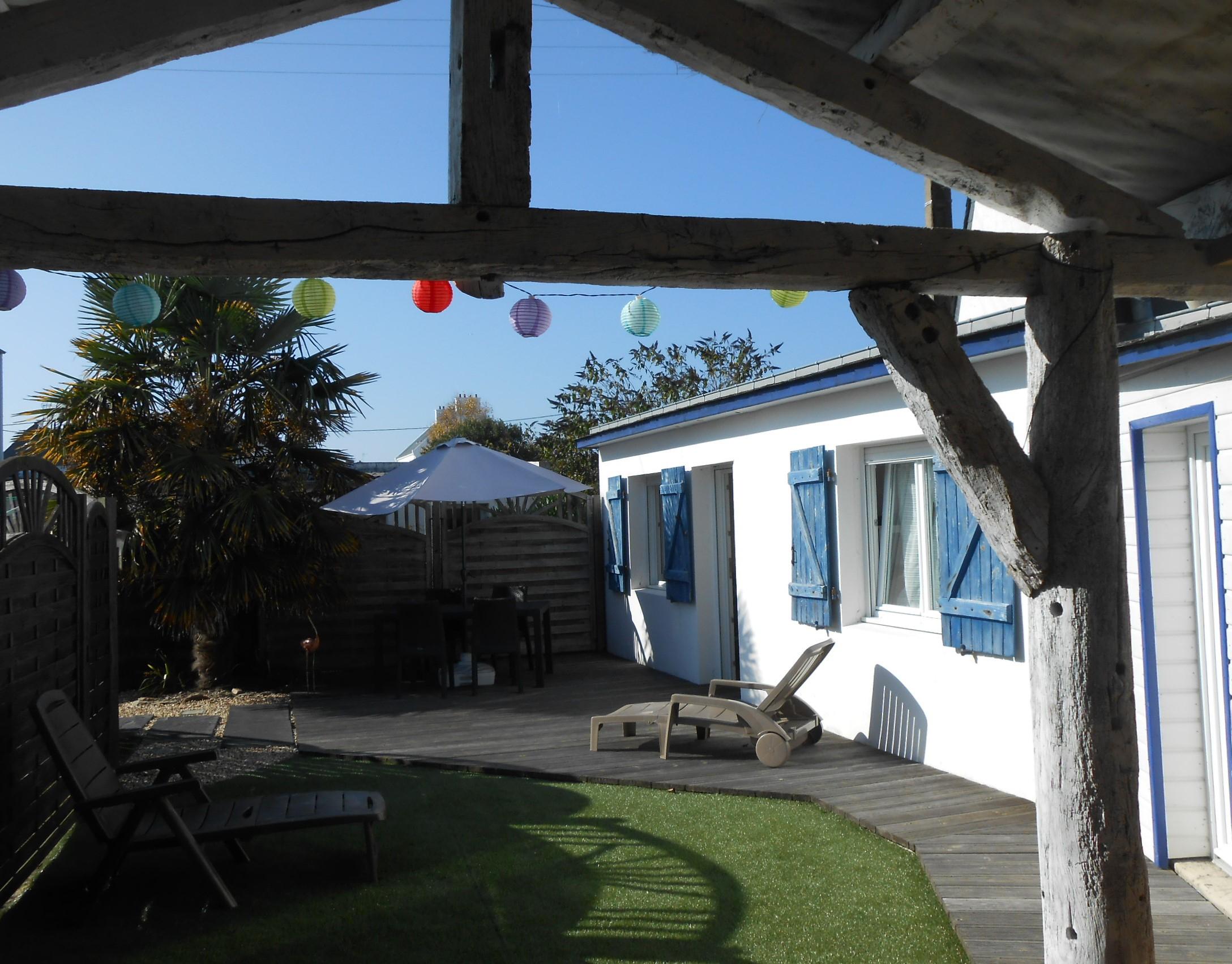 Hamon Anita - Maison 3 Personnes pour Paillote Jardin