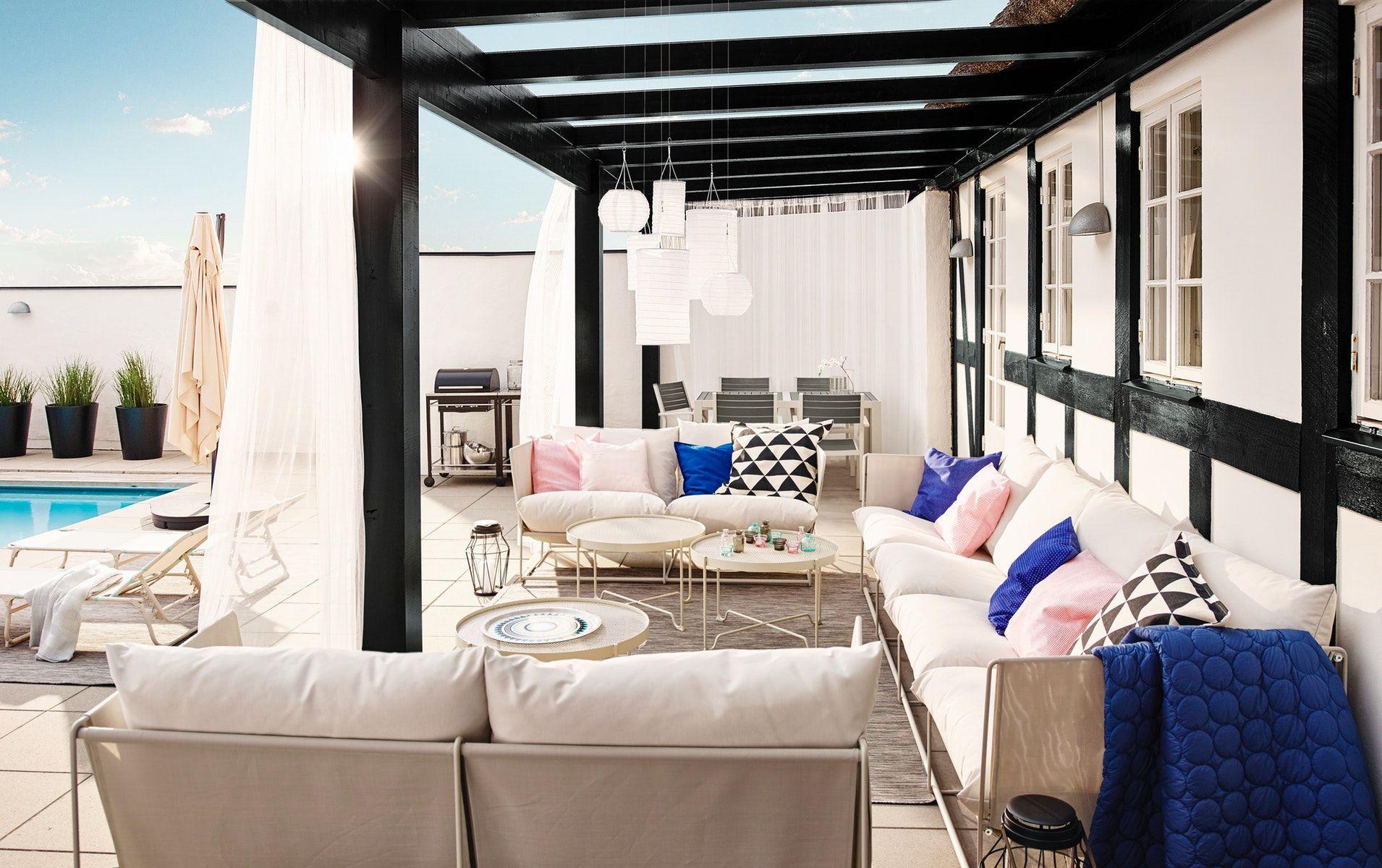 Havsten 2-Seat Sofa, In/outdoor - Beige - Ikea Switzerland ... intérieur Mobilier De Jardin Ikea
