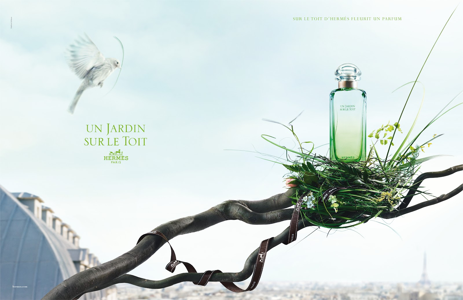 Hermes – Un Jardin Sur Le Toit (2011) – Parfüm Merakı destiné Malle De Jardin