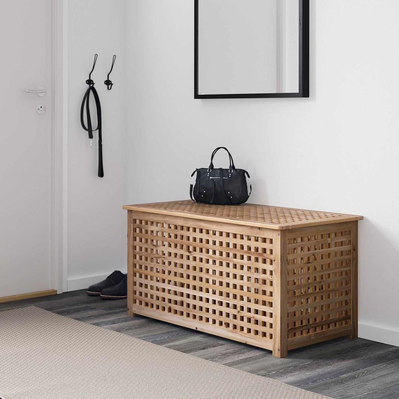 Hol Table De Rangement - Acacia 98X50 Cm à Table Basse De Jardin Ikea