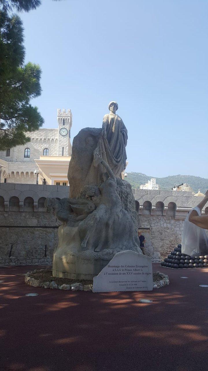Hommage Des Colonies Etrangeres Statue (Monaco-Ville) - 2020 ... dedans Statues De Jardin Occasion