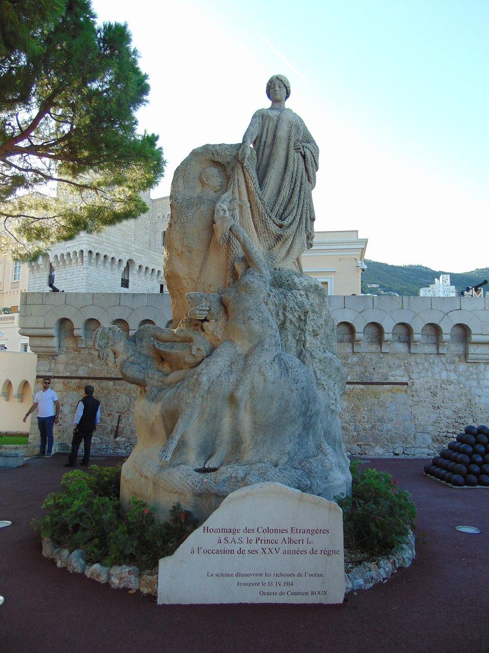Hommage Des Colonies Etrangeres Statue (Monaco-Ville) - 2020 ... intérieur Statues De Jardin Occasion