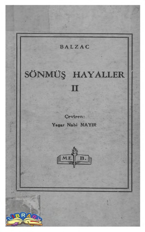 Honore De Balzac Sönmüş Hayaller Ii (Taşralı Bir Büyük Adam ... à Salon Jardin Alice Garden