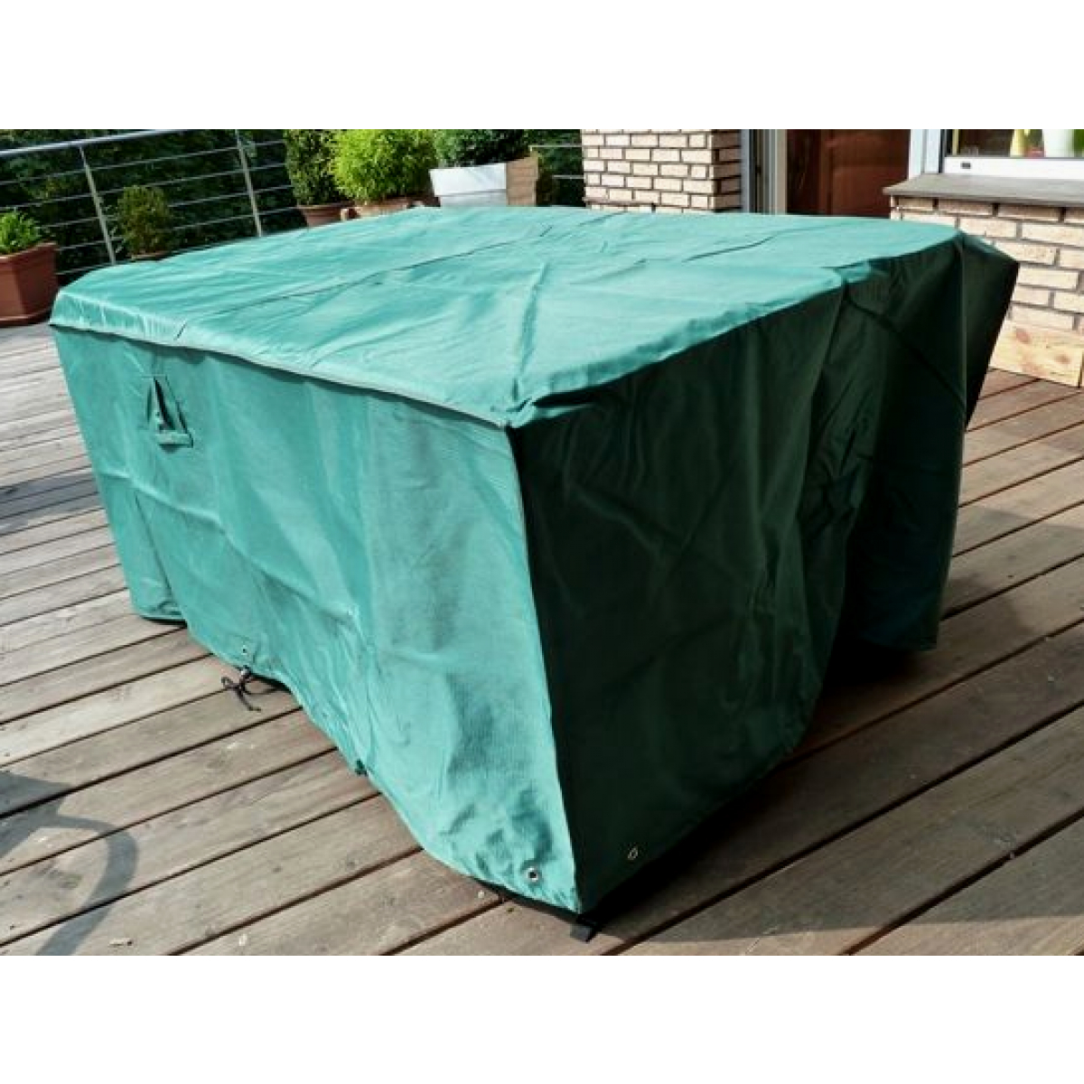 Housse Pour Table De Jardin En Matériau Résistant De Marque Hentex concernant Bache Table Jardin