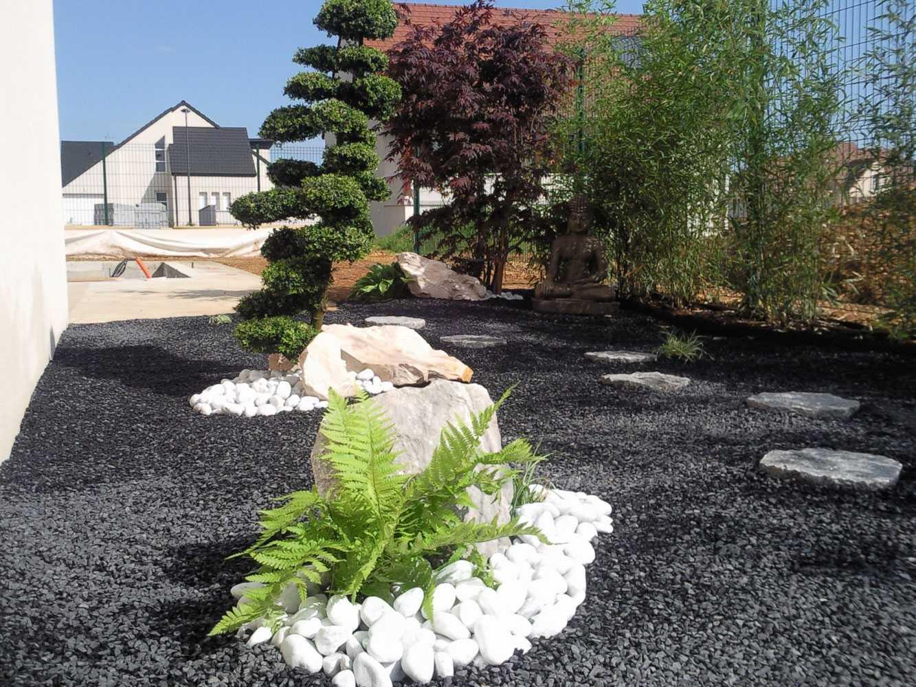 Impressionnant Jardin Exterieur Zen Avec Deco De Jardin ... encequiconcerne Déco De Jardin Zen
