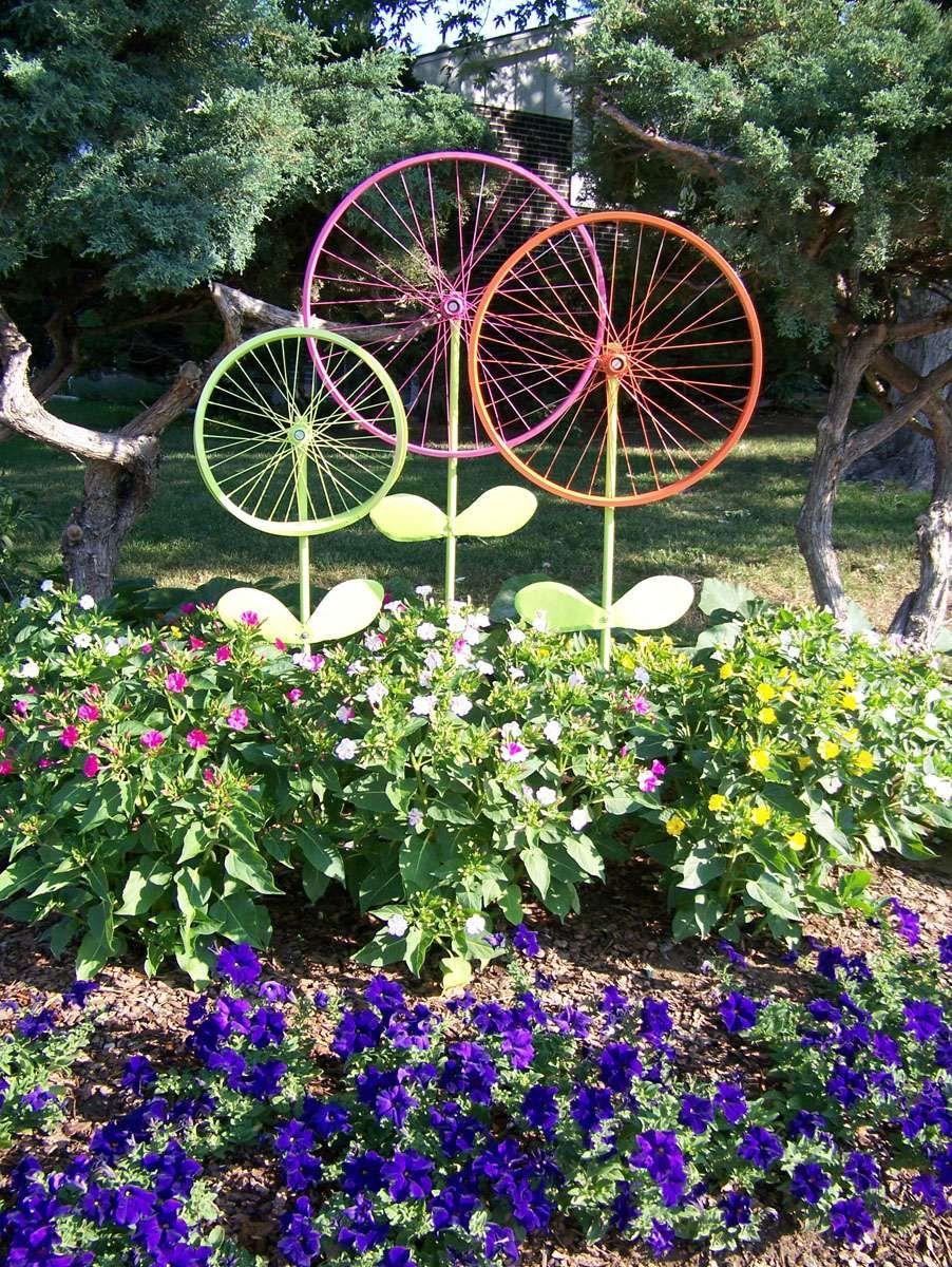 J'aime Cette Photo Sur Deco.fr ! Et Vous ? | Decoration ... concernant Velo Deco Jardin
