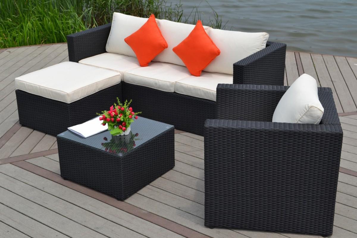 Jardin Decoration Pas Photo De Cher Table Exterieur Résine ... pour Salon De Jardin Pas Cher En Resine