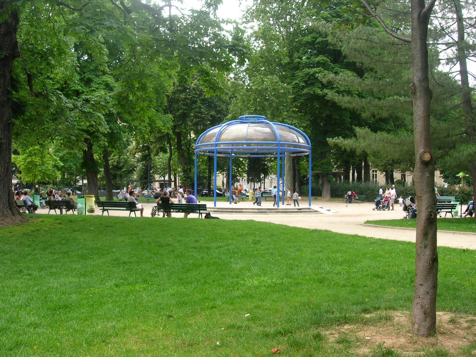 Jardin Du Ranelagh — Wikipédia intérieur Petite Barriere Jardin
