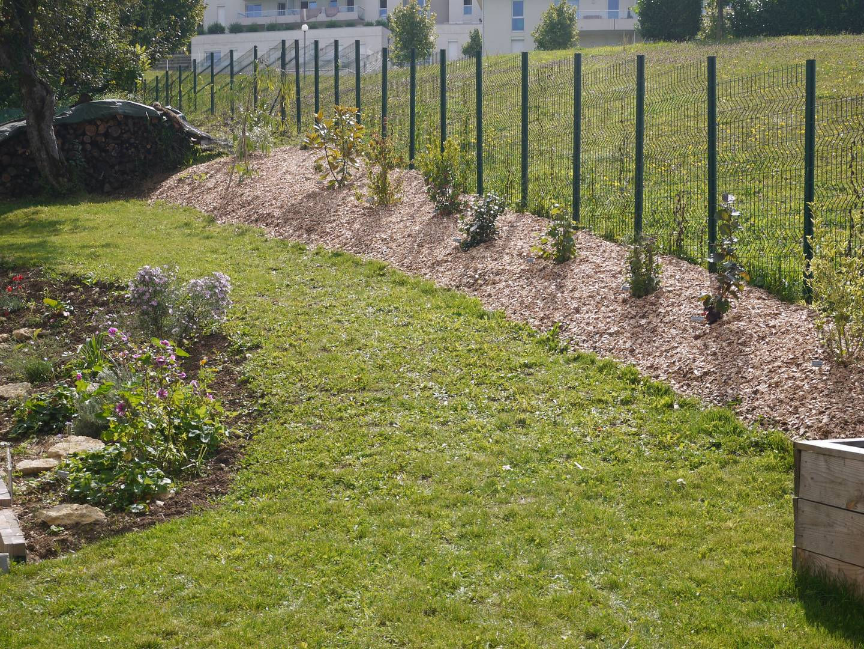 Jardin | Notre Maison Ossature Bois concernant Copeaux De Bois Jardin