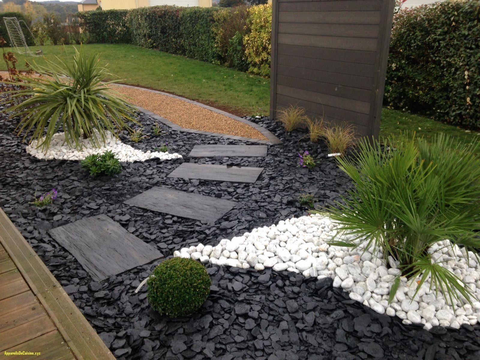 Jardin Zen Exterieur Best Of Amenagement Butte Exterieur ... encequiconcerne Jardin Avec Galets Blancs