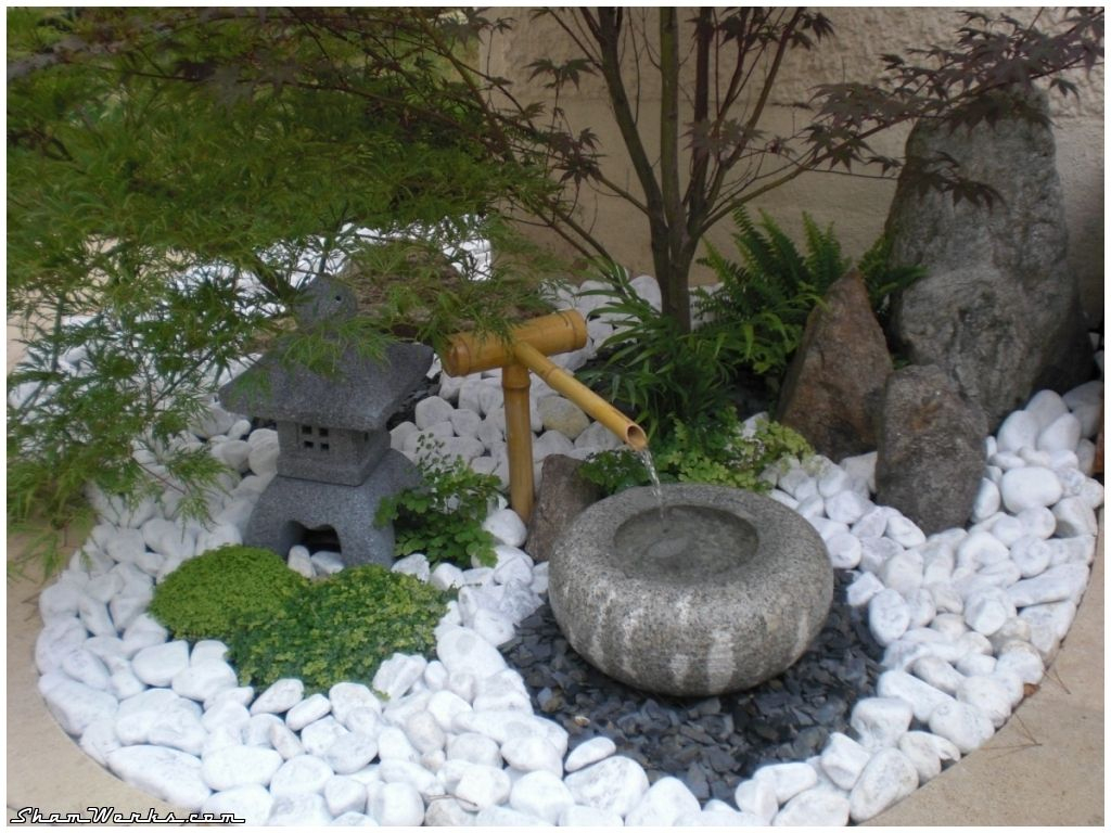 Jardin Zen | Petit Jardin Japonais, Jardin Japonais ... avec Déco De Jardin Zen