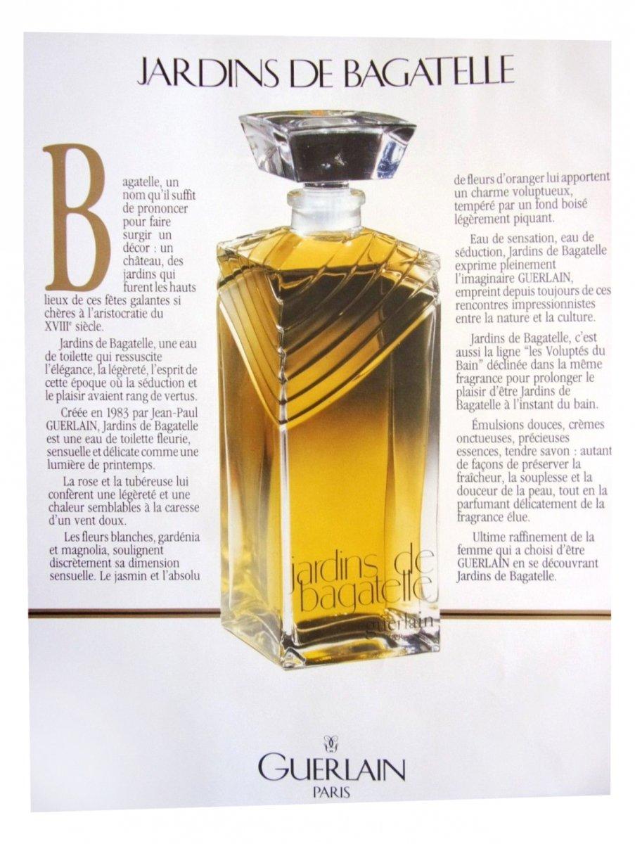 Jardins De Bagatelle Guerlain (1993)Eau De Parfum pour Jardin De Bagatelle Guerlain