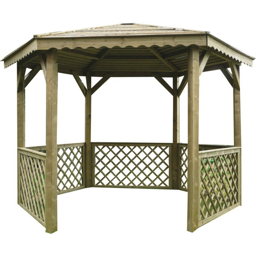 Kiosque De Jardin - Achat Kiosque Ou Gloriette De Jardin Pas ... dedans Abris De Jardin Occasion