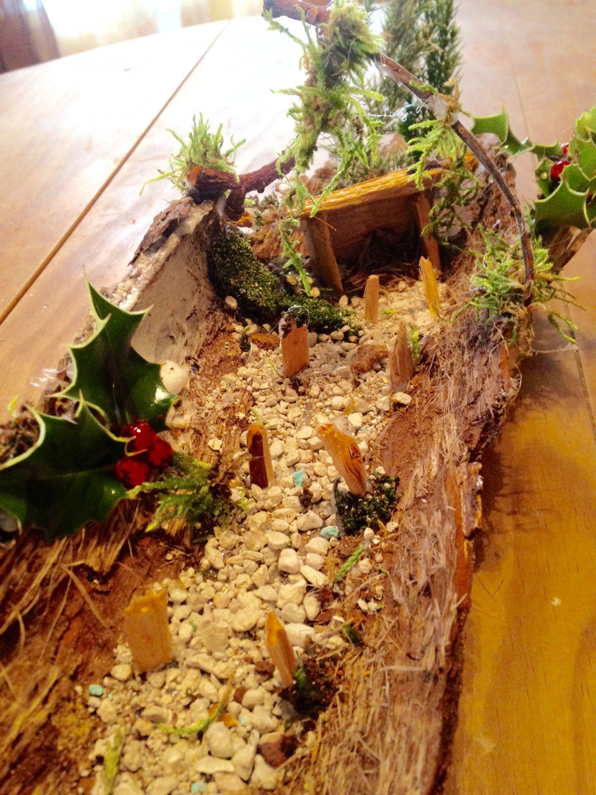 Krisamateur Kris Création Perso Recyclage Écorces, Mousses D ... concernant Ecorces Jardin