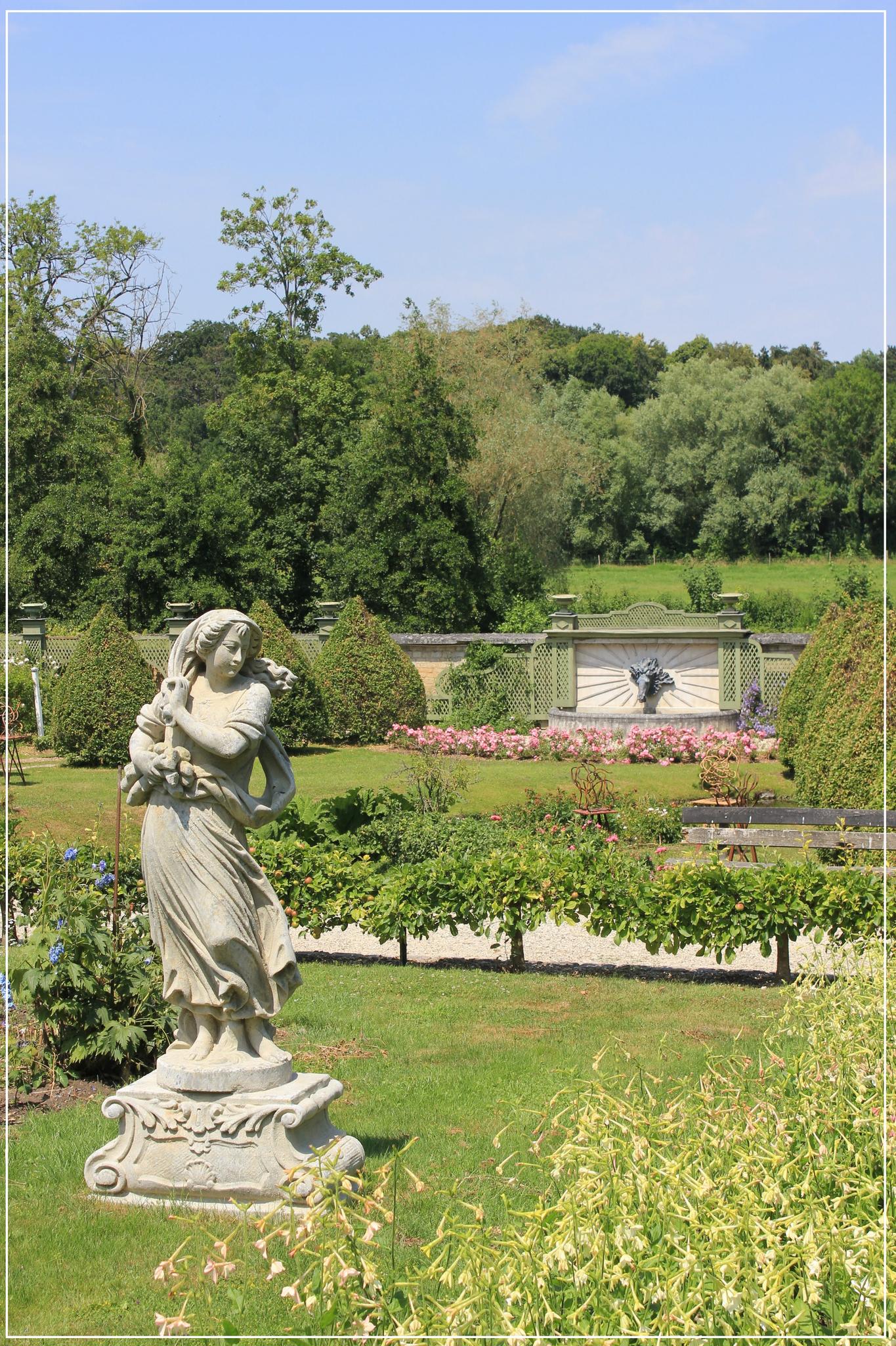 La Balade Du Dimanche - Le Tourbillon D'la Vie avec Statues De Jardin Occasion