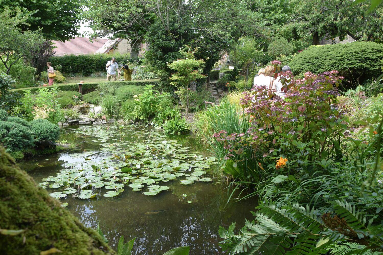 La Chaux | Visite Du Jardin Des Sources Organisée Le 15 Juillet intérieur Chaux Jardin