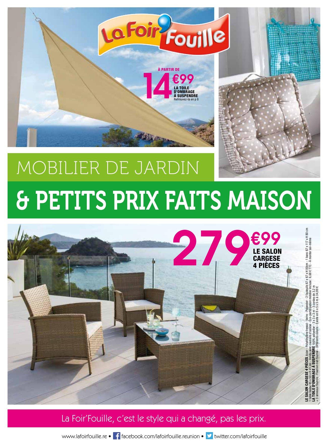 La Foir'fouille : Mobilier De Jardin & Petits Prix Faits Maison destiné Salon De Jardin La Foir Fouille