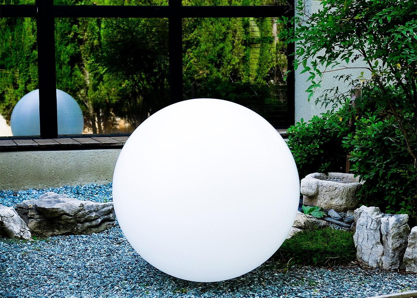 Lampe D'ambiance Sphère Lumineuse Zen Par Link serapportantà Boule Lumineuse Jardin