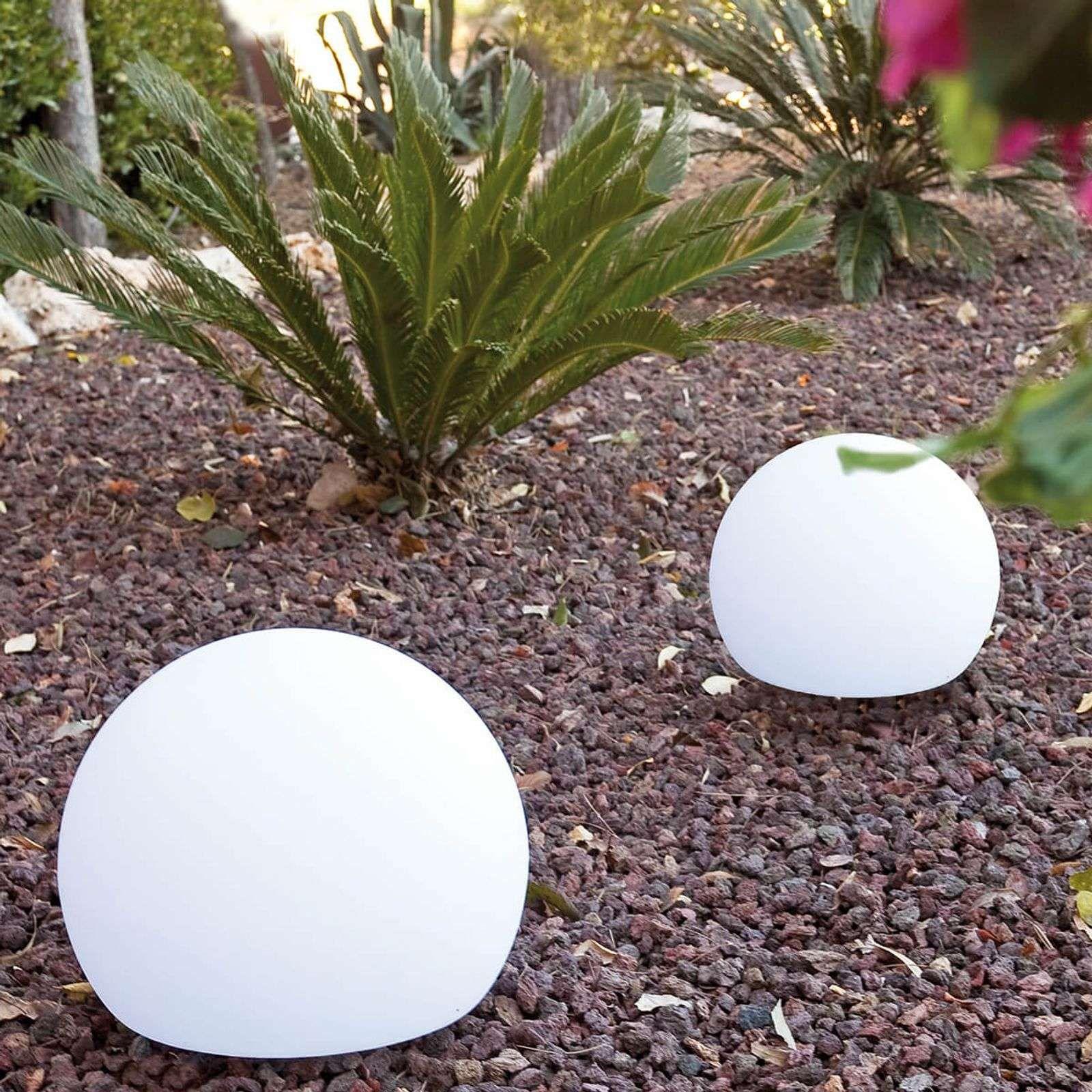 Lampe Décorative D'extérieur Sphérique Balda 40 Cm De ... pour Boule Décorative Jardin