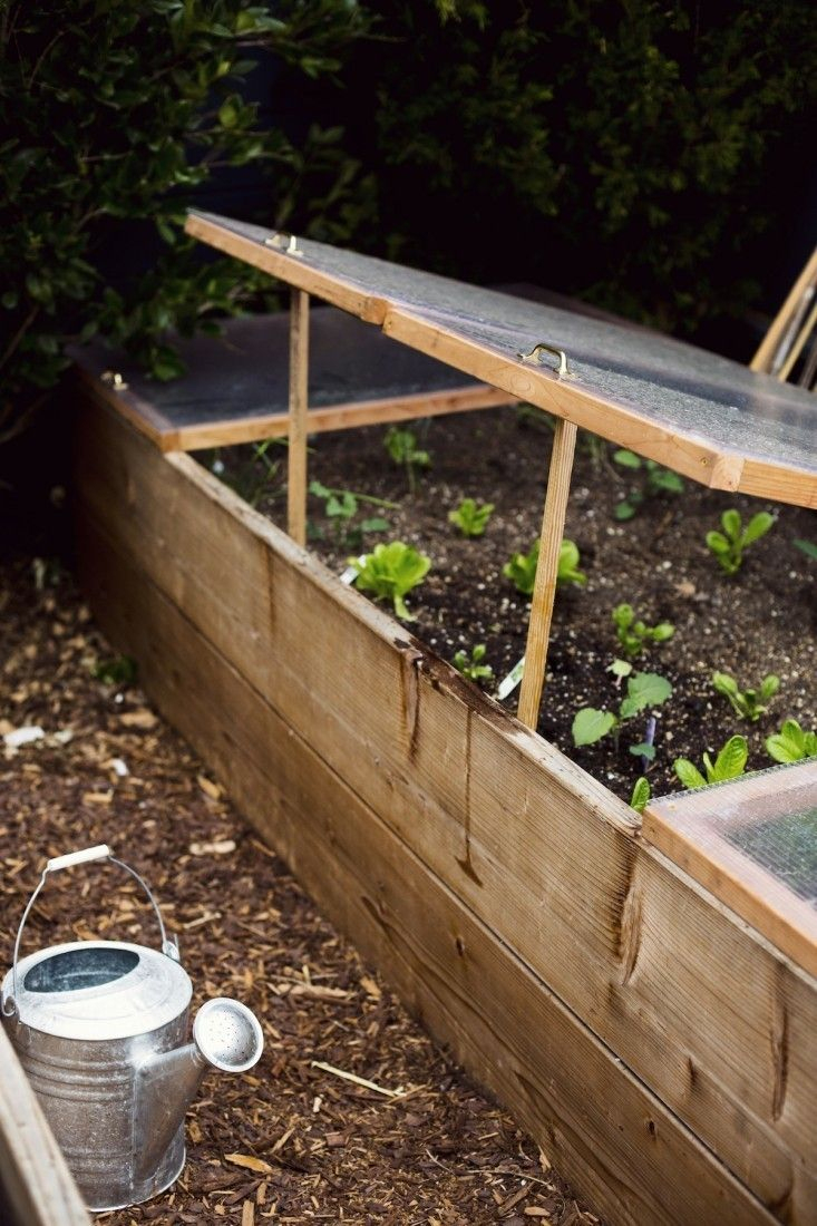 Landscaping 101: Mulch | Joli Jardin, Jardin Potager Et ... à Chassis De Jardin