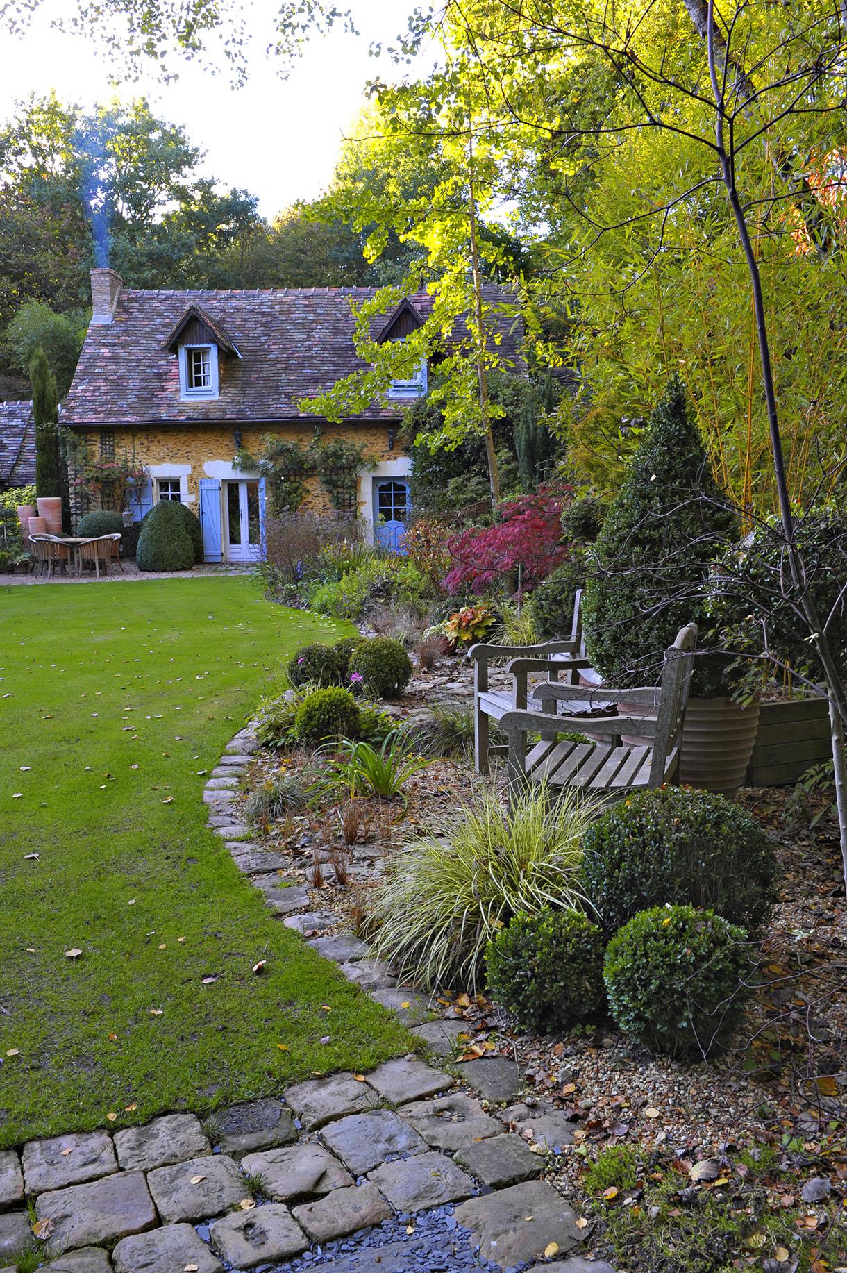 Le Jardin Du Petit Bordeaux Dans La Sarthe - Détente Jardin intérieur Petite Barriere Jardin