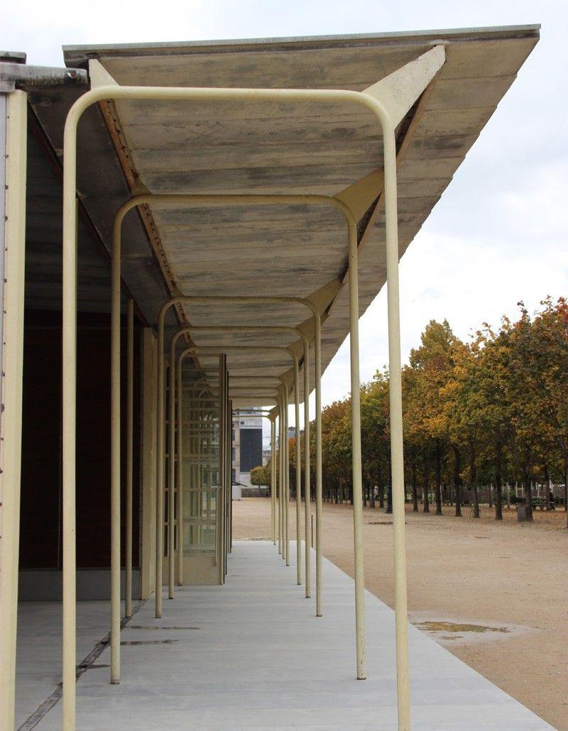 L'école De Bouqueval De Jean Prouvé Au Jardin Des Tuileries ... encequiconcerne Cabane De Jardin Occasion