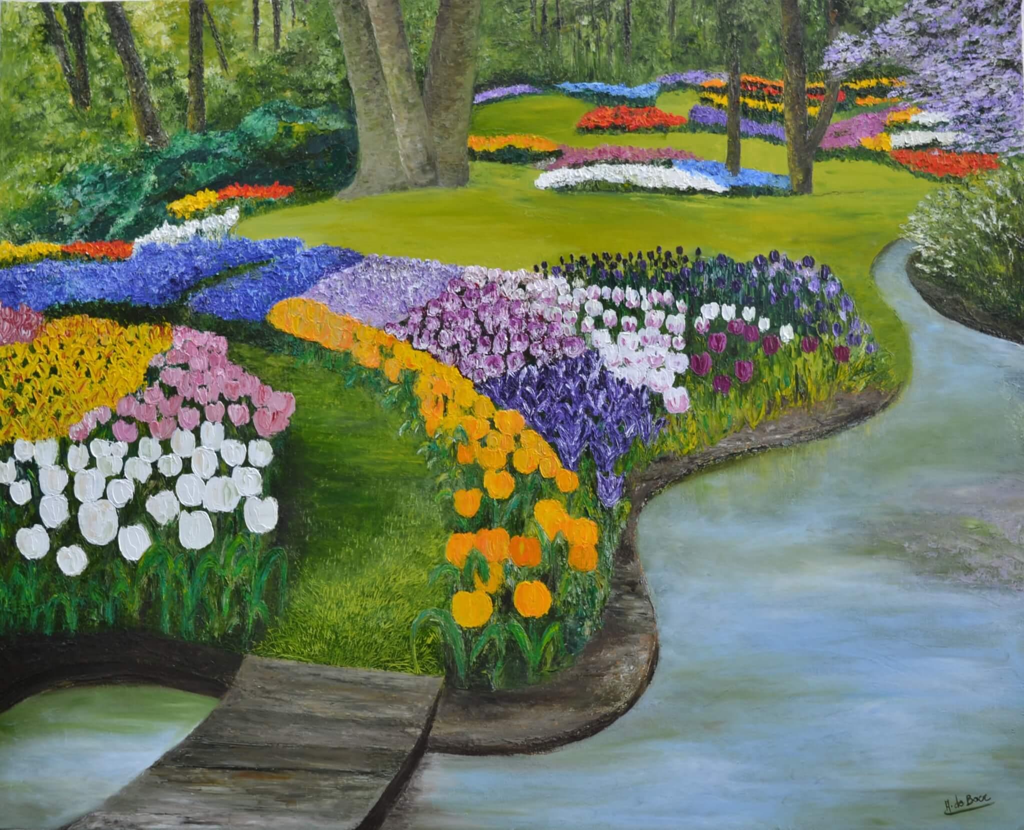 Les Jardins | Annie De Boer serapportantà Chassis Jardin