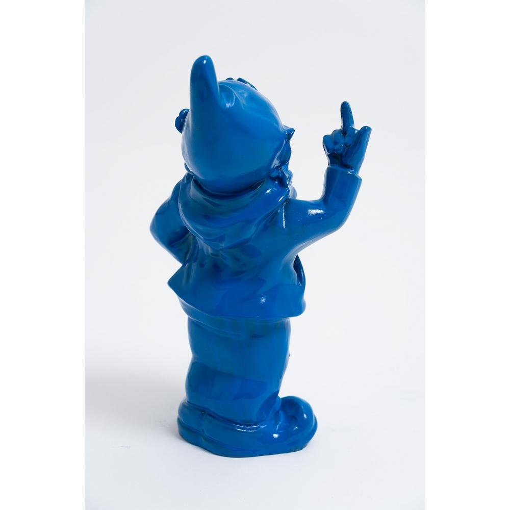 Lezeau - 33Cm - Statue Nain De Jardin Fuck Taille S Colori ... concernant Nain De Jardin Fuck