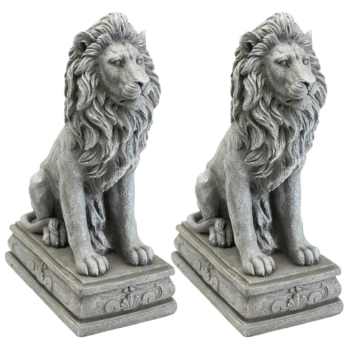 Lion Statue D'occasion | Plus Que 3 À -75% tout Statues De Jardin Occasion
