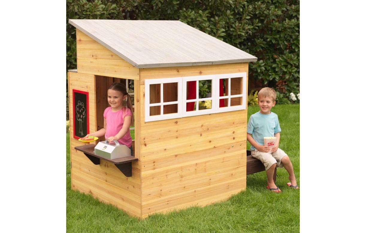 Maison De Jardin En Bois Schème - Idees Conception Jardin à Maison De Jardin Pour Enfant