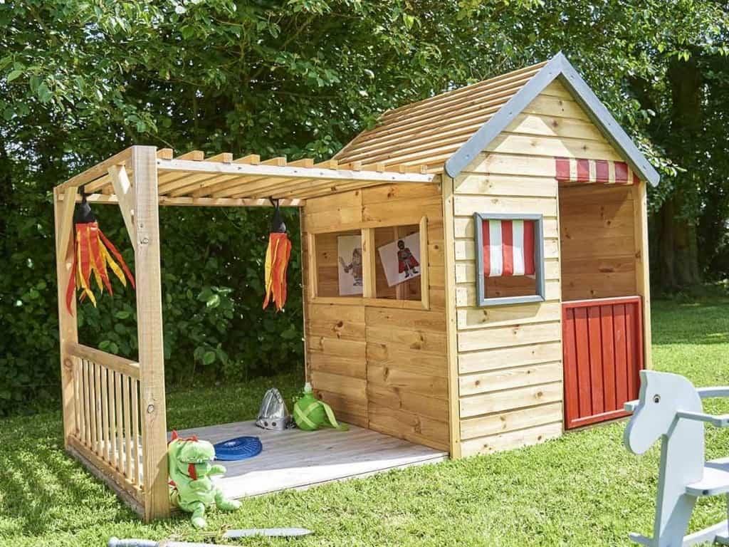 Maison En Bois En Kit Pour Enfant - Le Meilleur Des Maisons ... encequiconcerne Cabane De Jardin Pour Enfants