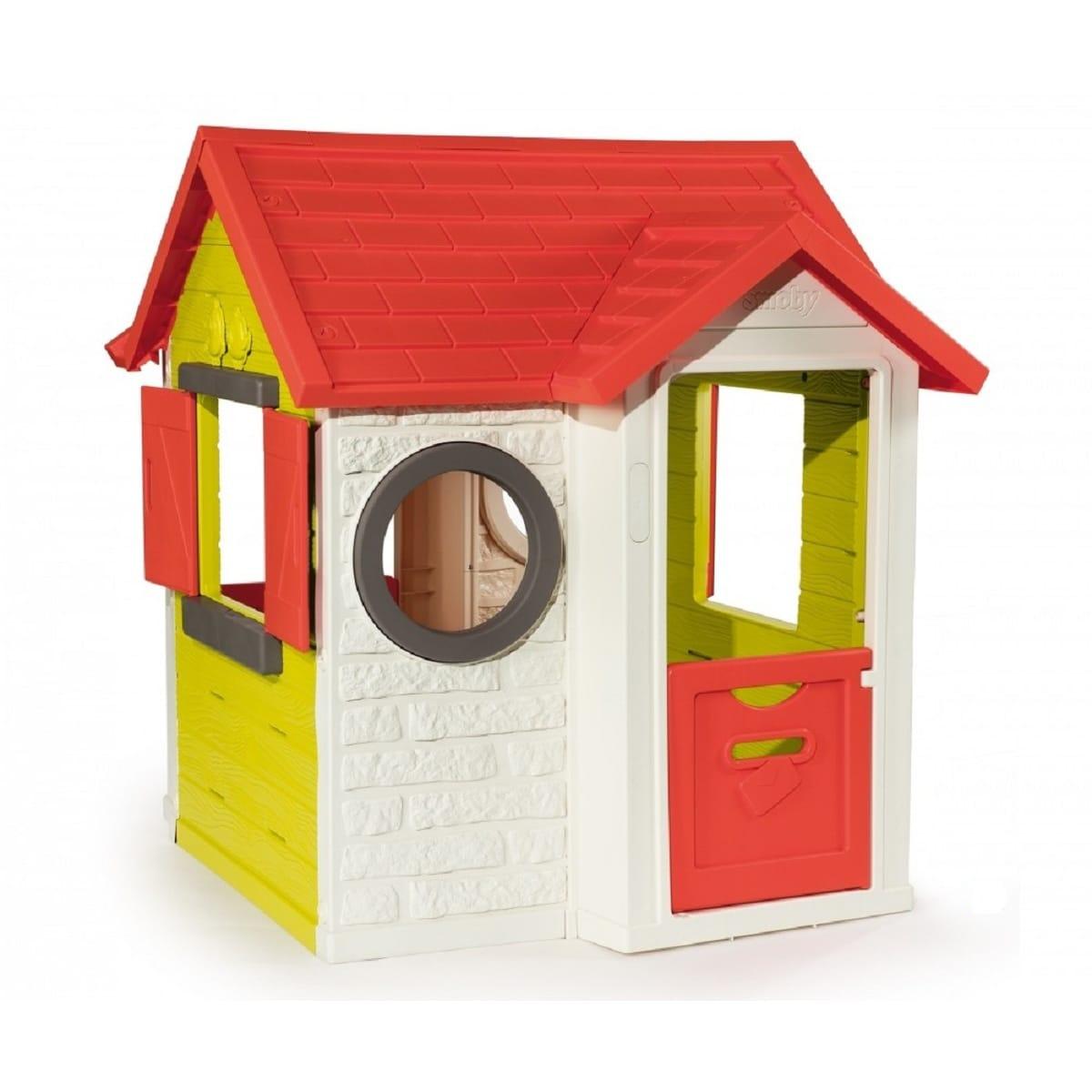 Maison Enfant Smoby My House avec Maison Jardin Smoby