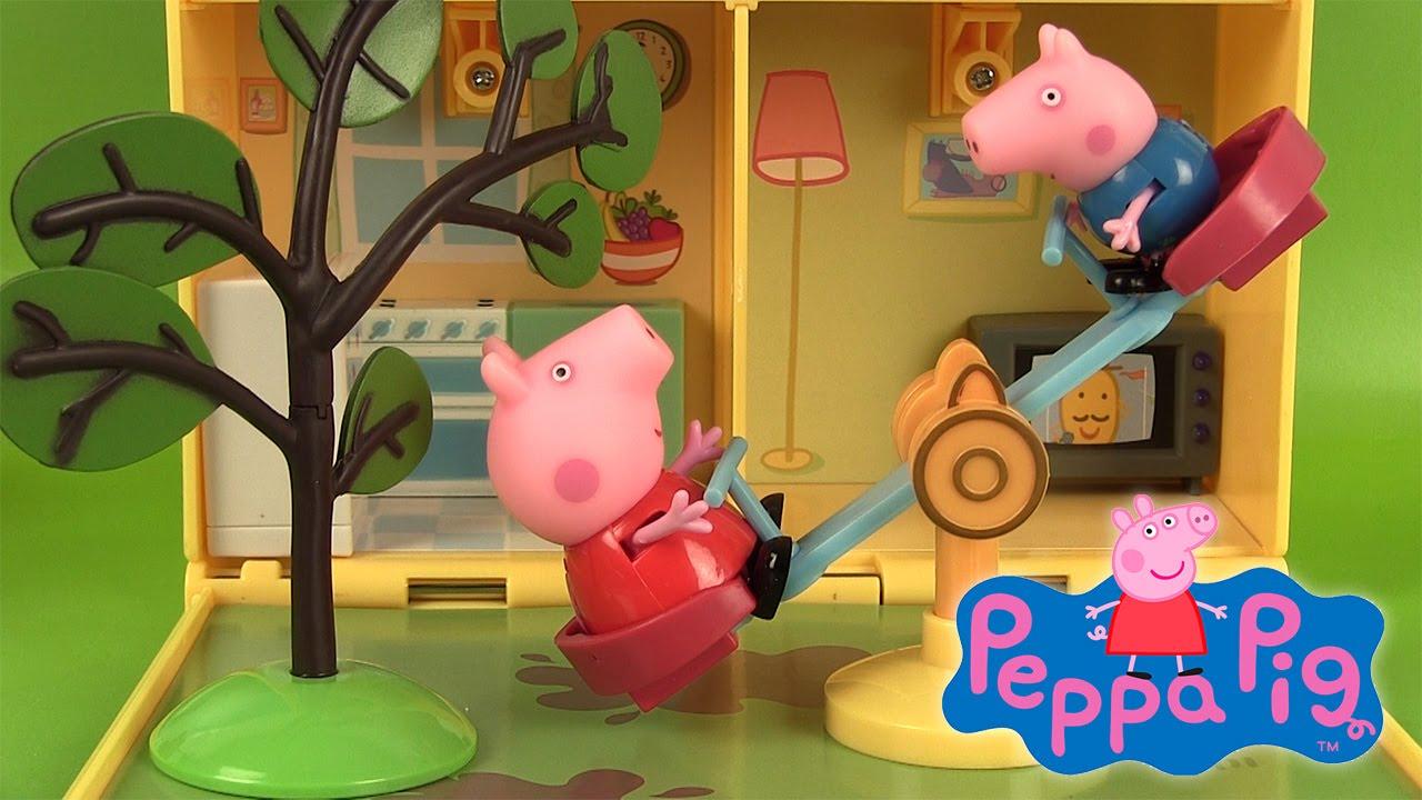 Maison Et Jardin De Peppa Pig Jouets Et Super Sand Peppa'S Home & Garden  Playset concernant Maison Jardin Jouet