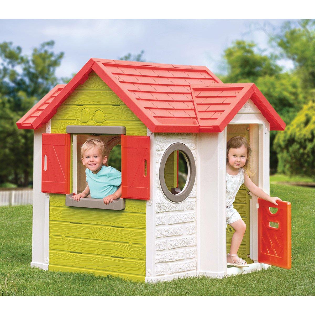 Maison My Neo House - Smoby - Maisons, Toboggans Et Jeux D ... concernant Maison De Jardin Smoby