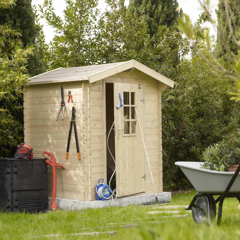 Maison Porte De Garage Avec Portail Coulissant Pas Cher ... pour Abris De Jardin Occasion
