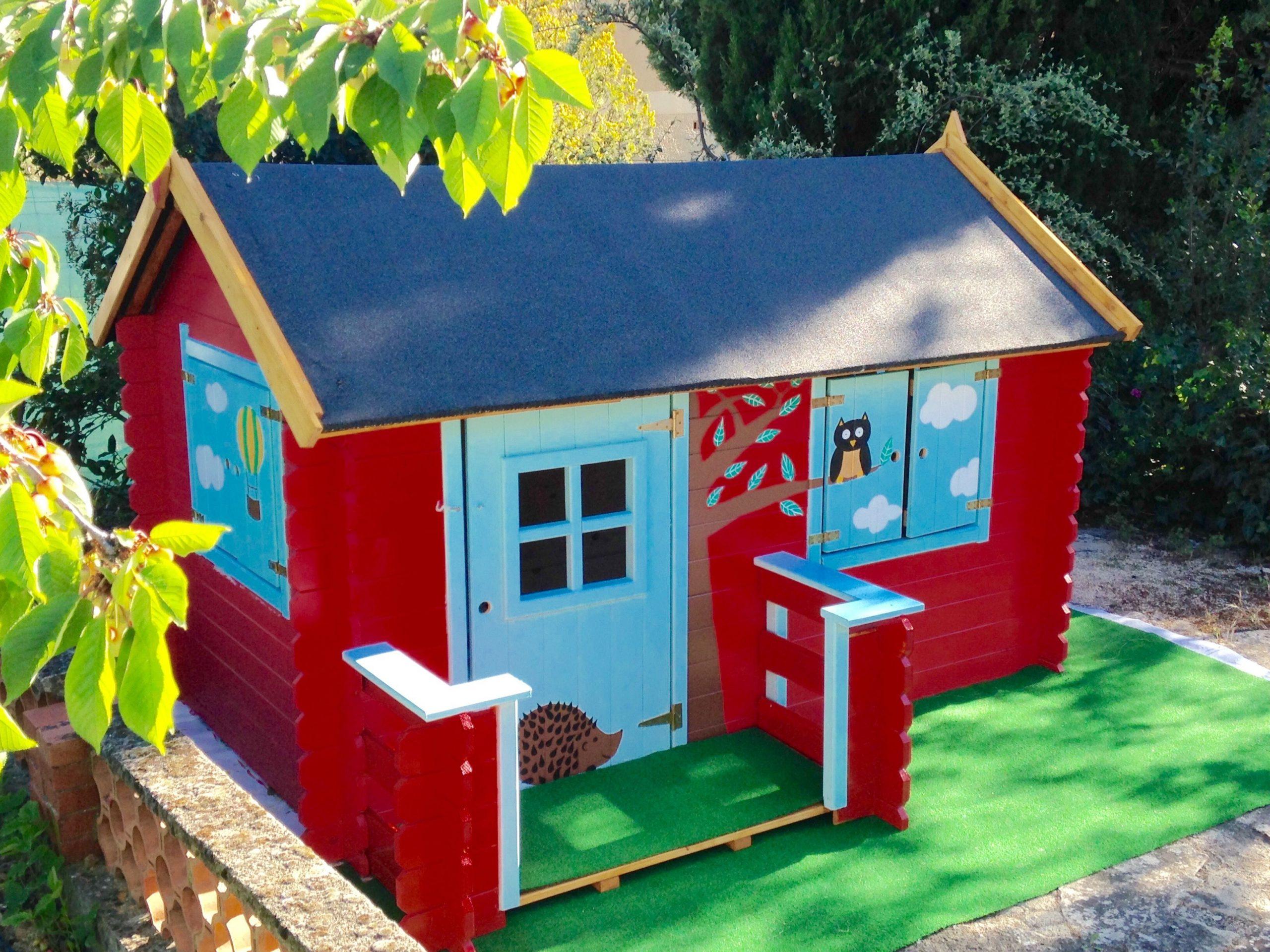 Maisonnette Bois Camille | Maisonnette Bois Enfant ... à Cabane De Jardin Enfant Pas Cher