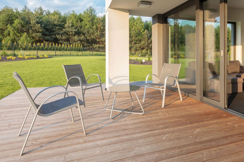 Meilleur Salon De Jardin En Aluminium : Bien Choisir, Nos ... pour Salon De Jardin Tressé Leroy Merlin