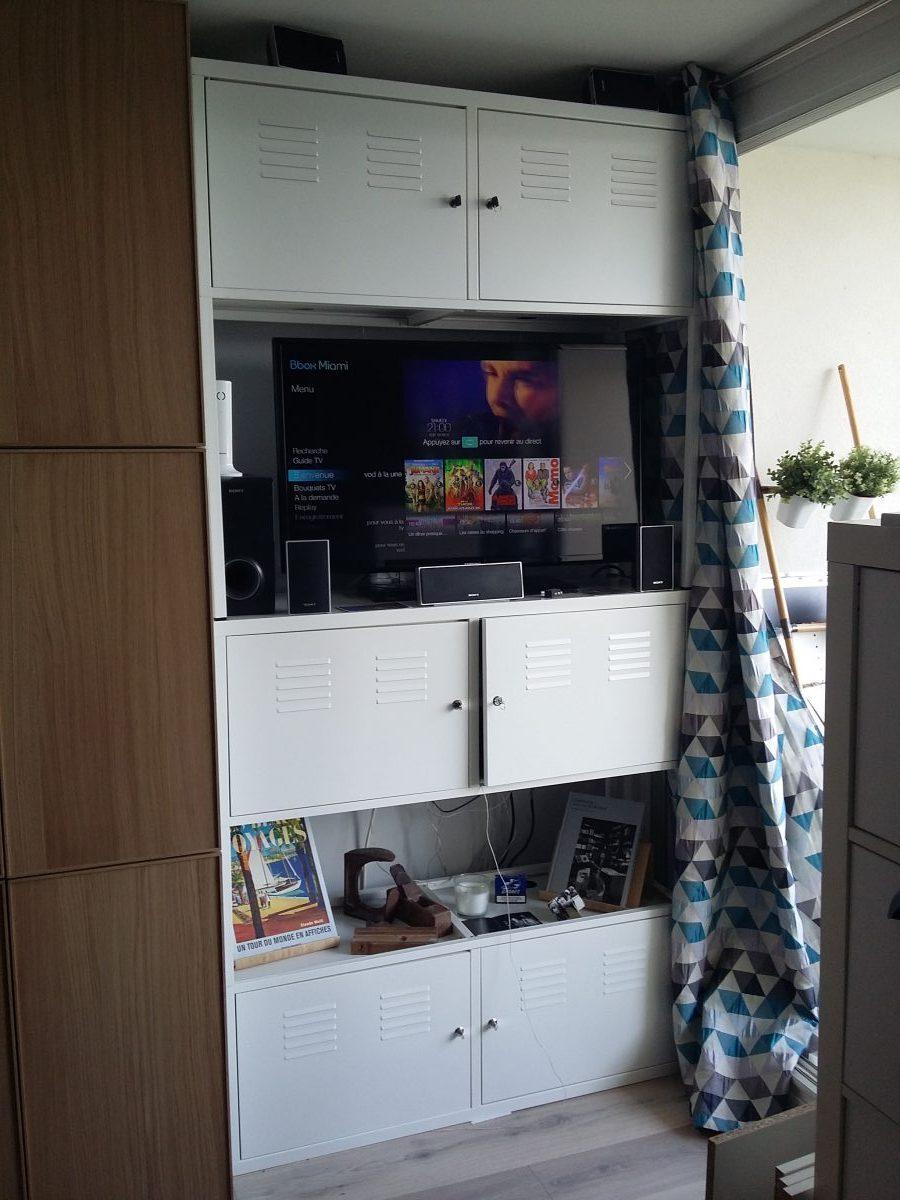 Meuble Tv Industriel encequiconcerne Armoire De Jardin Ikea