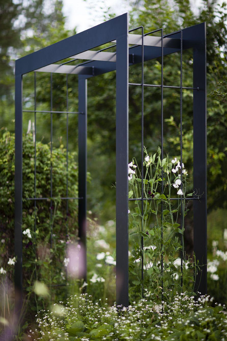 Modern Arbor | Arche Jardin, Treillis Jardin, Tonelle Jardin à Tonelle De Jardin