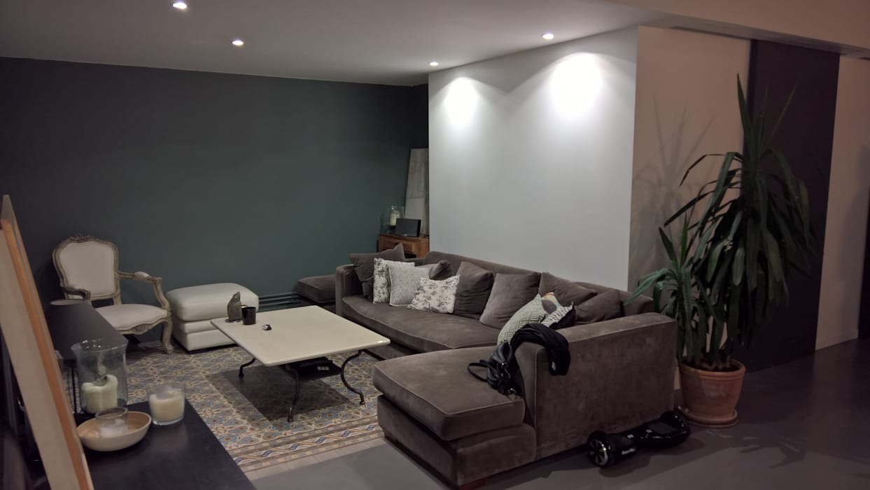 Modern Oturma Odası L&d Intérieur Modern | Homify encequiconcerne Verriere Jardin