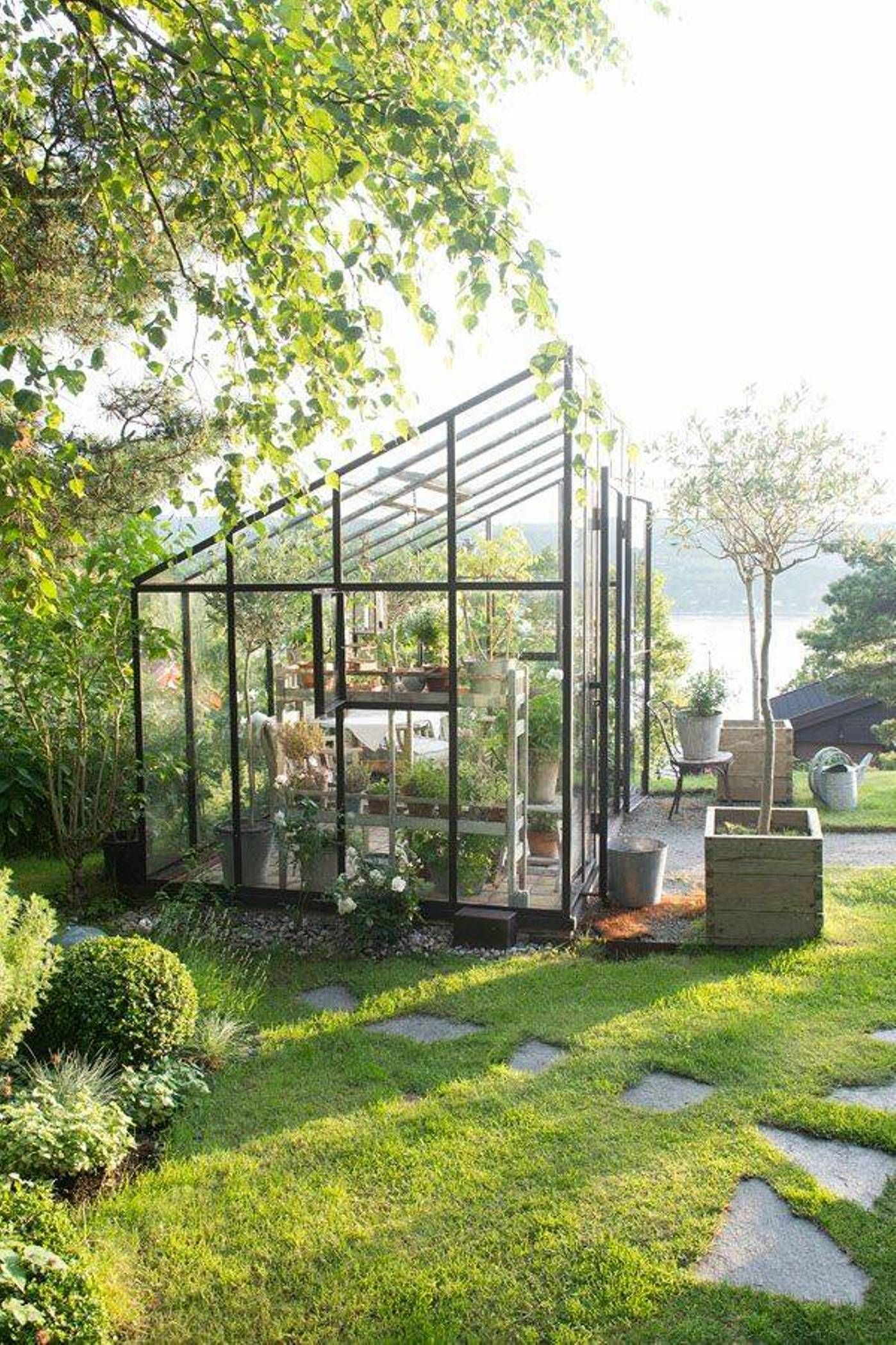 Moderne • Verrière • Jardin D'hiver • Veranda • | Serre ... dedans Verriere Jardin