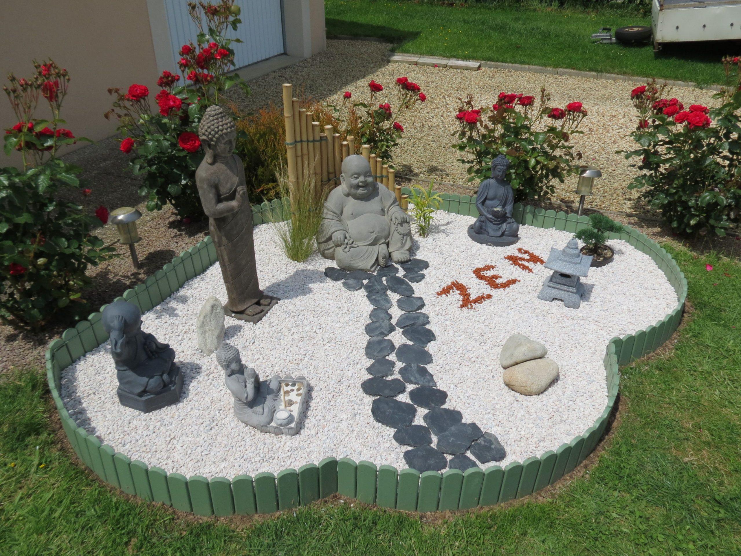 Mon Coin Zen Terminé | Deco Jardin Zen, Decoration Jardin Et ... pour Déco De Jardin Zen