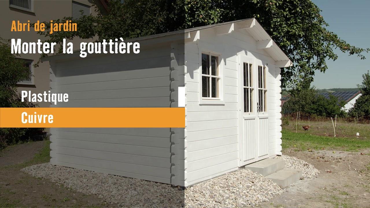 Monter Une Gouttière | Hornbach Suisse tout Gouttière Pour Abri De Jardin