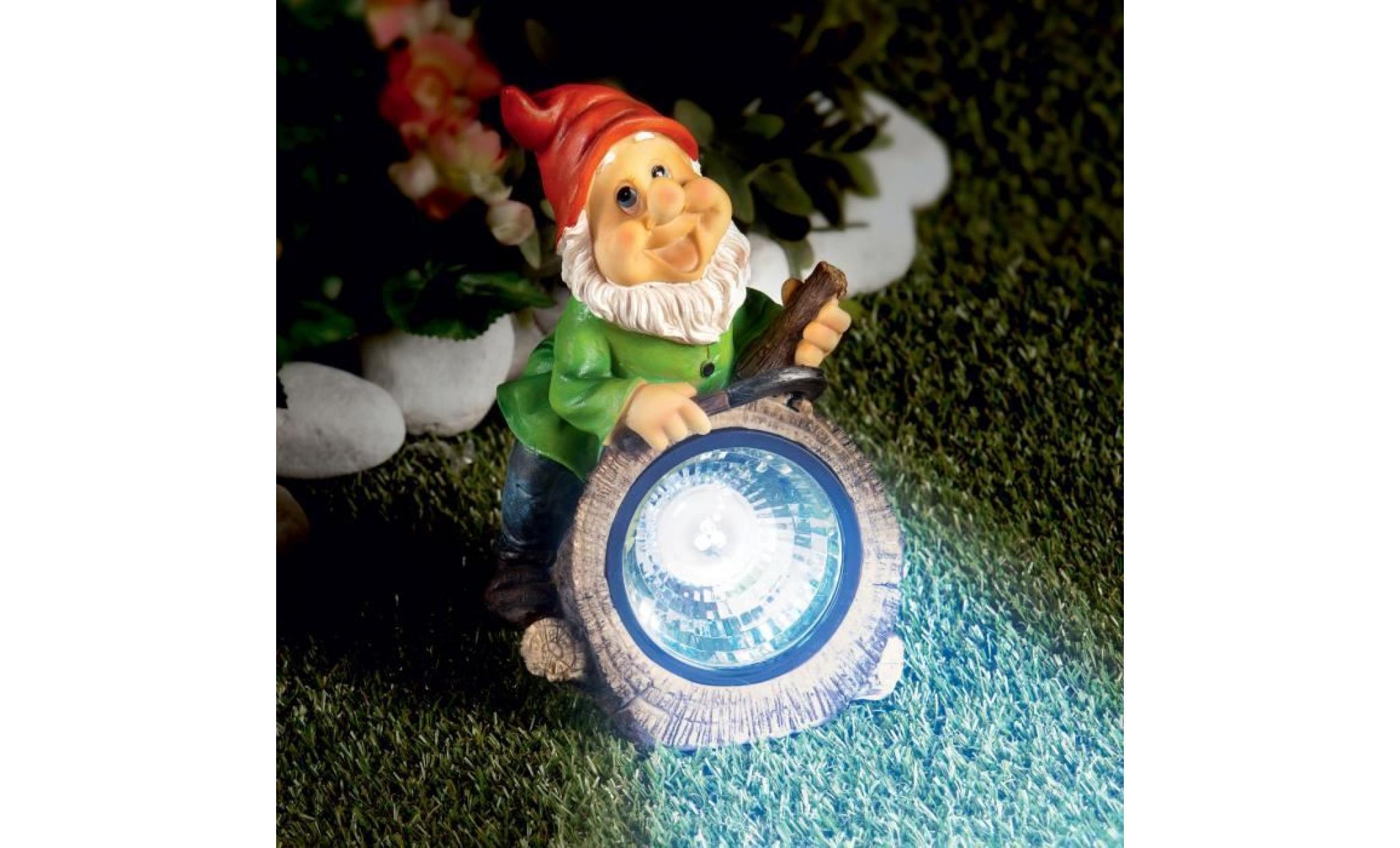 Nain De Jardin Solaire - Achat/vente Lampe Solaire Jardin ... avec Nain De Jardin Pas Cher
