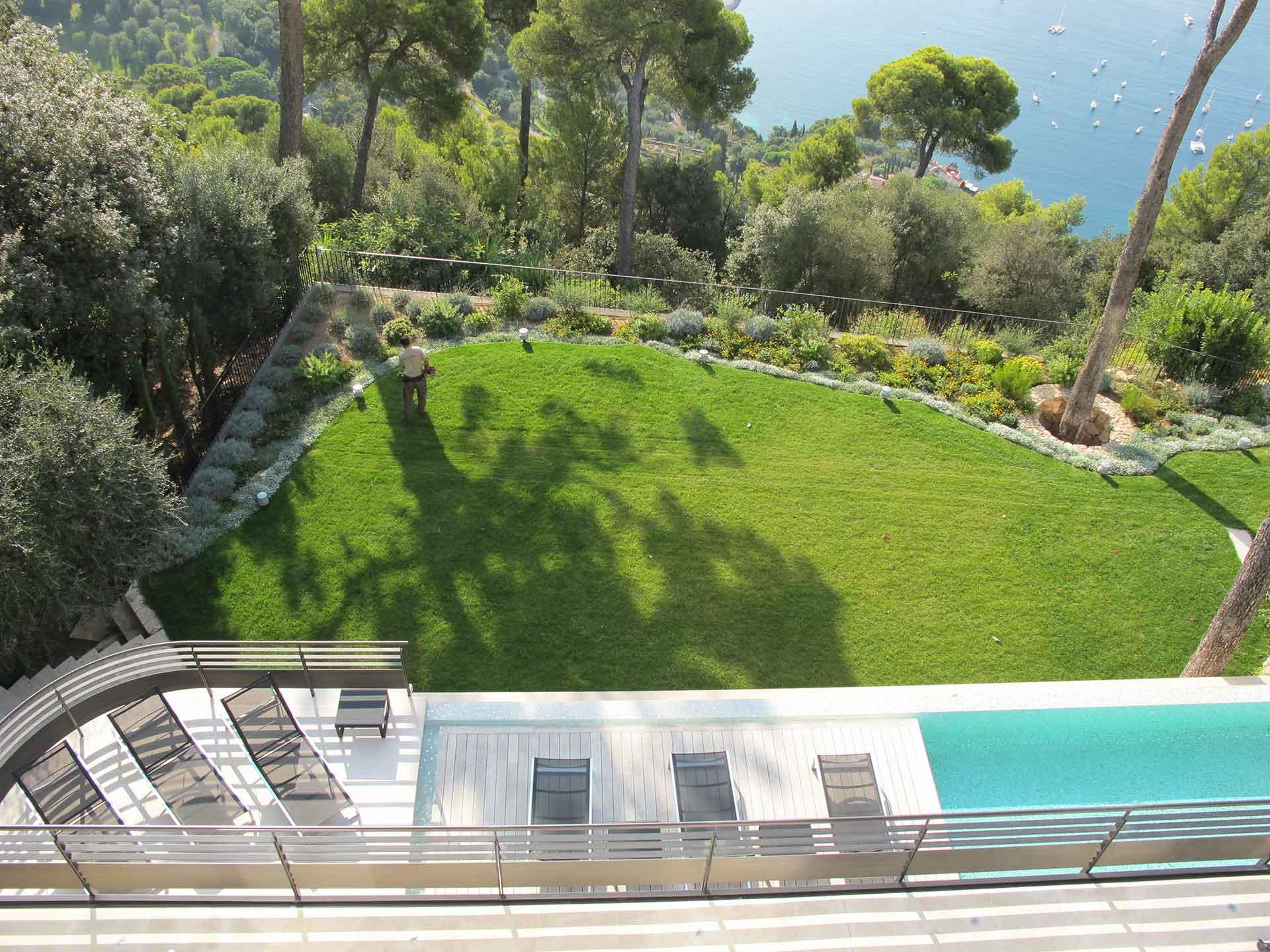Narmino Jardins - Création Et Entretien De Jardins À Monaco ... pour Serre De Jardin D Occasion