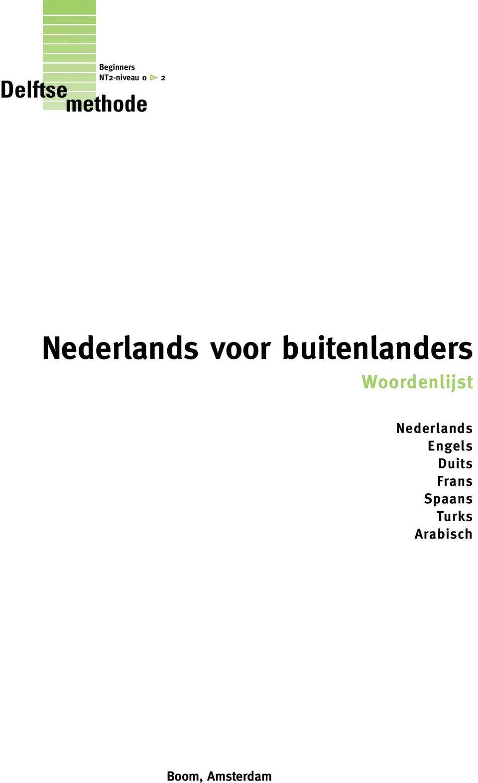 Nederlands Voor Buitenlanders - Pdf Free Download tout Lit De Jardin Rond