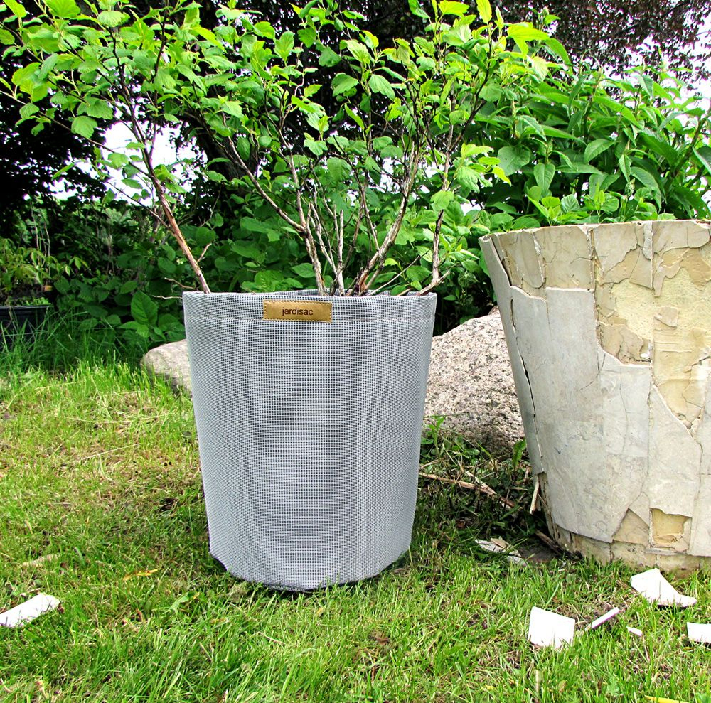 No More Bronken Pots! Plant Pots, Garden Planter In ... dedans Geotextile Jardin