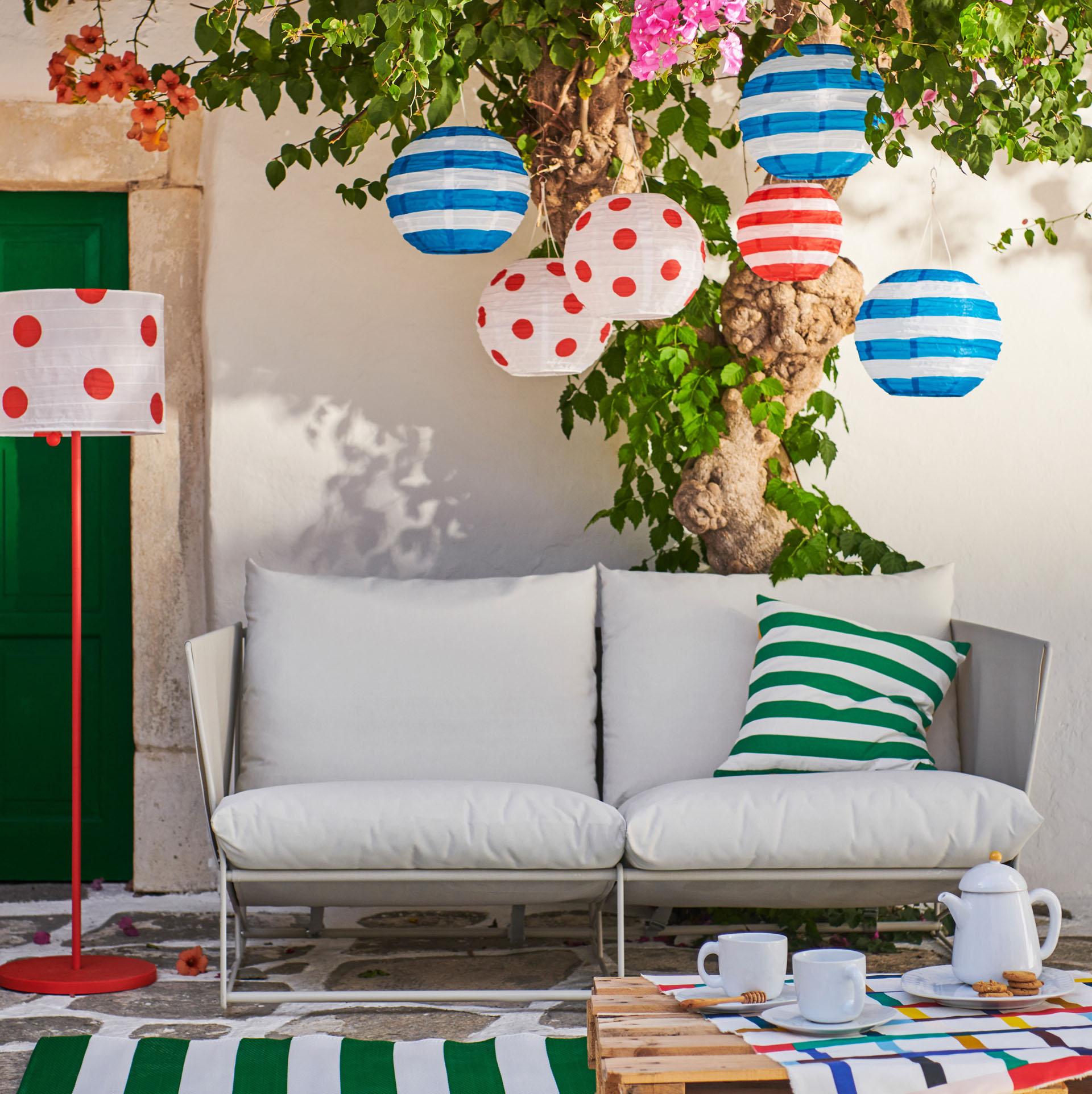 Notre Déco De L'été 2019 Selon Ikea - Cdeco.fr Décoration ... avec Ikea Mobilier De Jardin