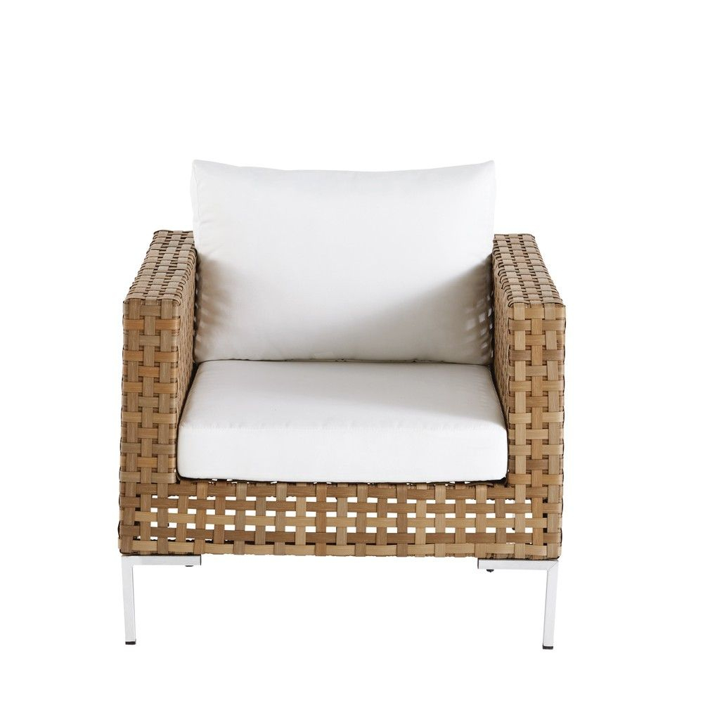 Outdoor Furniture | Wicker Armchair, Armchair, Outdoor Sofa Sets dedans Salon De Jardin Nevada
