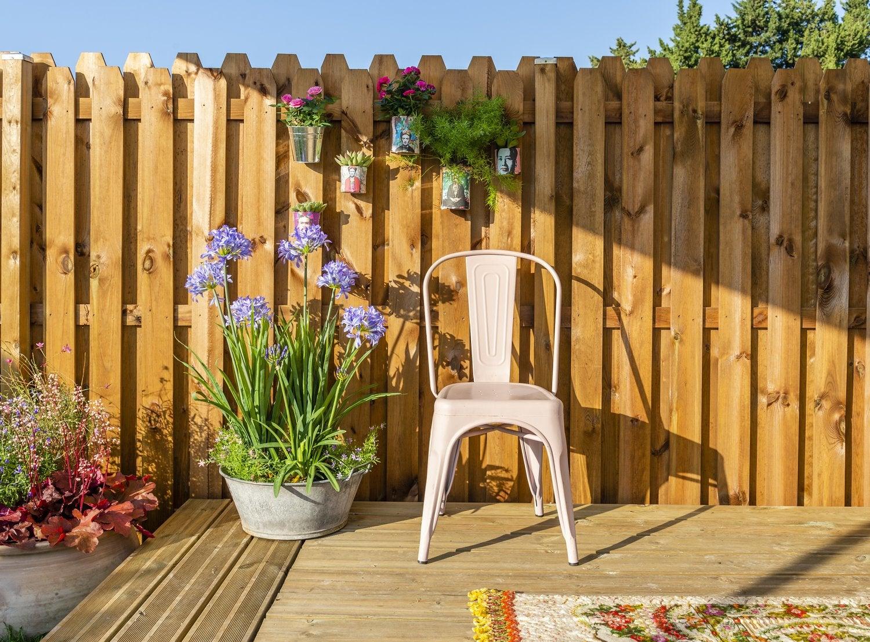 Panneau Bois, Idéal Pour Bien Clôturer Son Jardin | Leroy Merlin dedans Barrière Bois Jardin